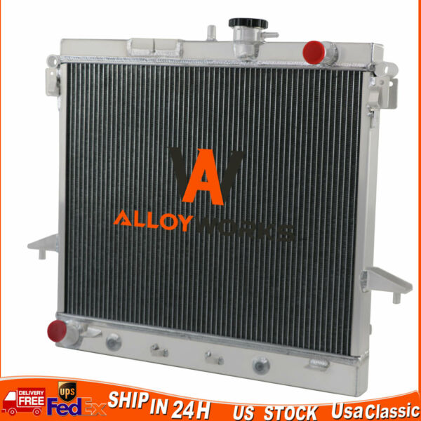 Aluminum Radiator For Hummer H3 06-10  H3T 09-10  GMC Canyon 09-12 5.3L