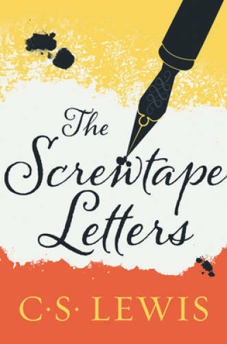 The Screwtape Letters Paperback By Lewis C. S. VERY GOOD