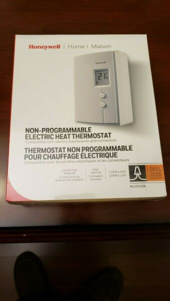 Honeywell RLV3120A Digital Non Programmable Electric Heat Thermostat $16.00