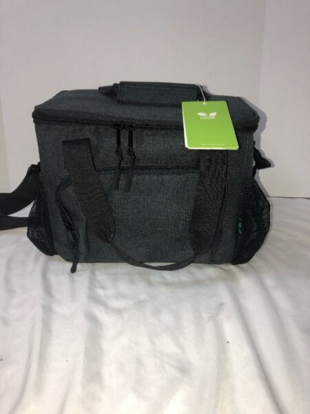 Lunch Bags Soft Carry Cooler Bag Tote With Shoulder Strap 12 Cans Waterproof -
