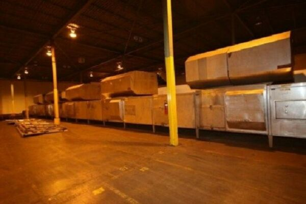 Rademaker Den Boer Multibake Tunnel Oven 221 Ft. Long X 8 Ft. Wide