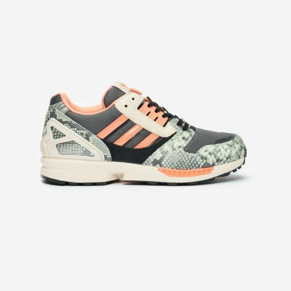 New adidas ZX 8000 Fw9783 Lethal Nights Grey Six/Semi Coral/Core Black Shoes n1