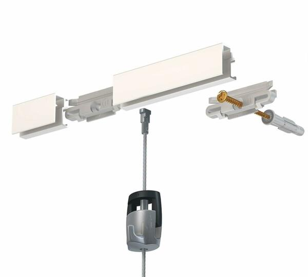 2 HangZ R10 Gallery Cable Hanging Systems- 5' Long