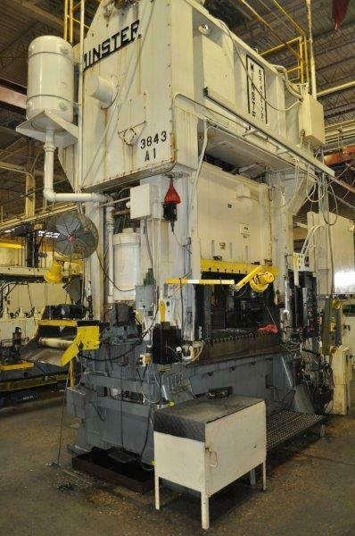 400 TON MINSTER SSDC PRESS E2-400-72-48 8