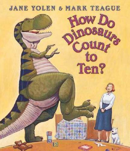 How Do Dinosaurs Count To Ten? Board book By Yolen Jane GOOD $3.58