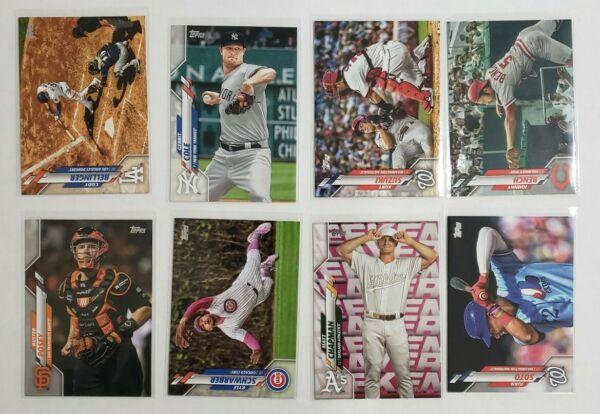 2020 Topps Series 1 Photo Stat Retro Short Print SP - You Pick From A List