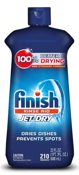 Finish Jet-Dry Aid 23oz Dishwasher Rinse Agent & Drying Agent 23 Ounce (Pack