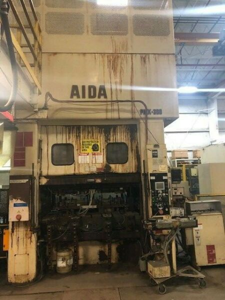 330 TON AIDA SSDC LINK DRIVE PRESS 5.90