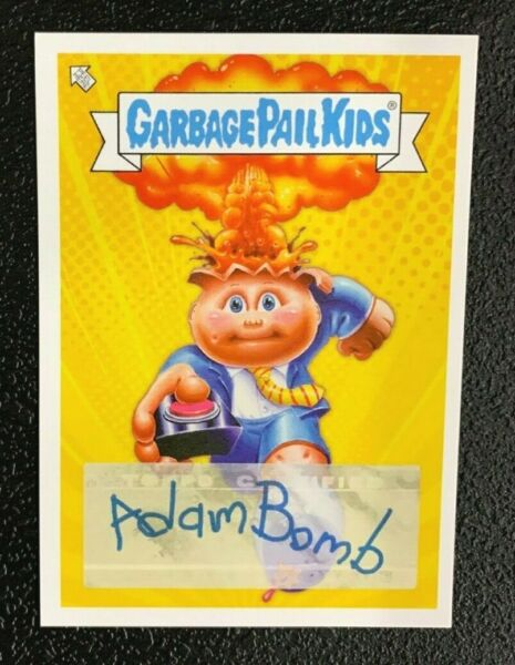 GPK Garbage Pail Kids 2020 Toy Fair Adam Bomb Exclusive - SP- Joe Simko