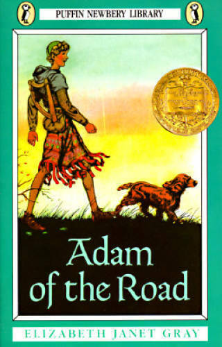 Adam of the Road Newbery Library Puffin Paperback VERY GOOD