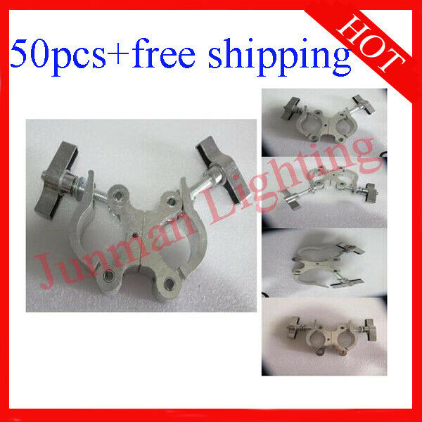 Light Clamps Hook Fit 40-52mm Tube For DJ Disco stage Light 50pcs Free Shipping