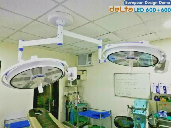 Cold Lights Operation Theater Double Satellie Shadowless model Euro LED OT Light