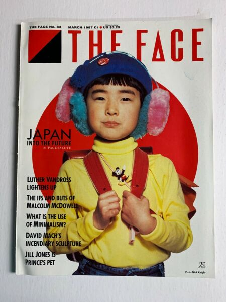 THE FACE Magazine March 1987 Luther Vandross Malcolm Mcdowell David Mach