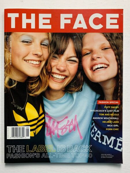 THE FACE Magazine August 1999 Sean Ellis Puff Daddy Andrew Weatherall