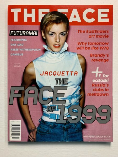 THE FACE Magazine December 1998 Reese Witherspoon BRANDY