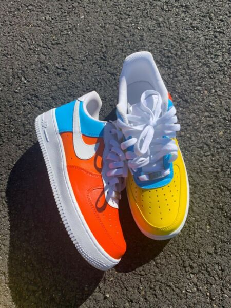 Custom Air Force 1 Low Top Multi-Colored Air Force One
