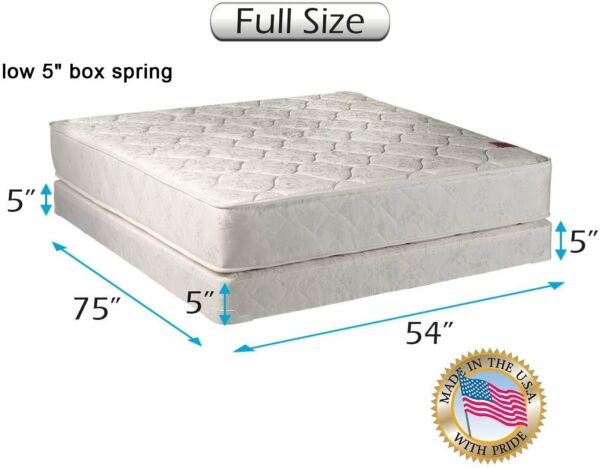 Dream Sleep Legacy Full Mattress and Low 5