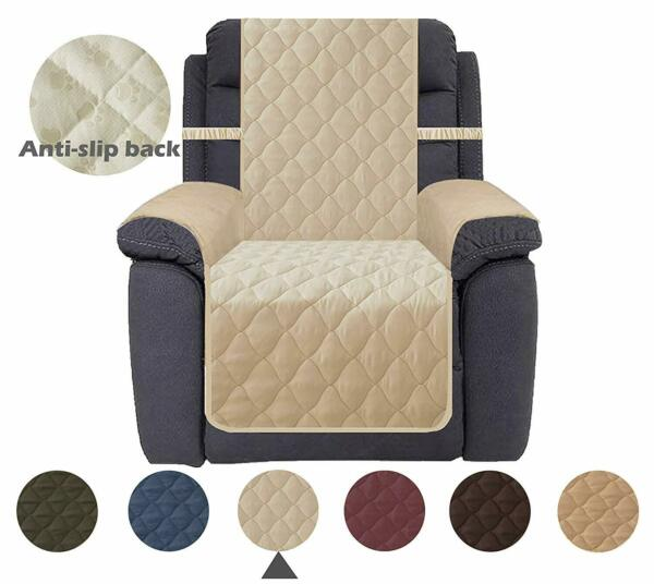 Chair Cover Waterproof Nonslip Recliner Slipcover For Dogs Furniture Protector $45.99