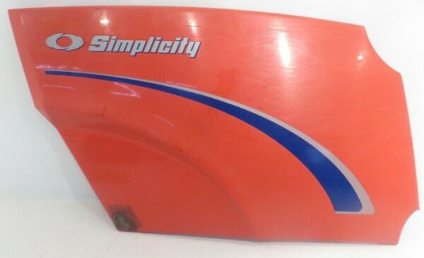 OEM Simplicity Conquest Riding Lawn Mower 1694014 R H SIDE HOOD PANEL 1721804