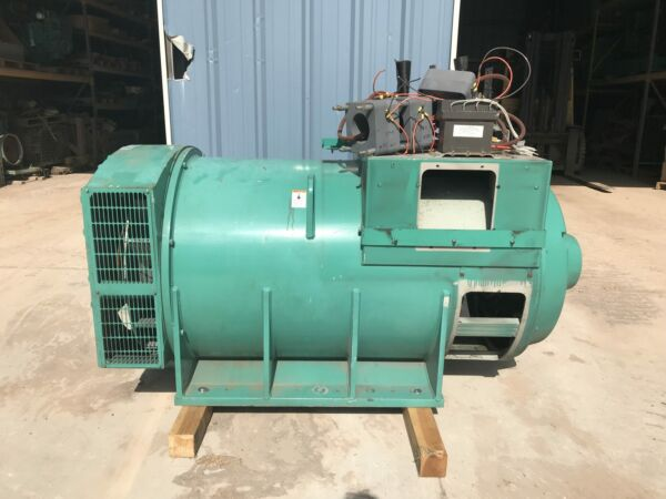 Cummins Onan Generator End from 1500 kW Genset DFLE 3375121 Generator End O...