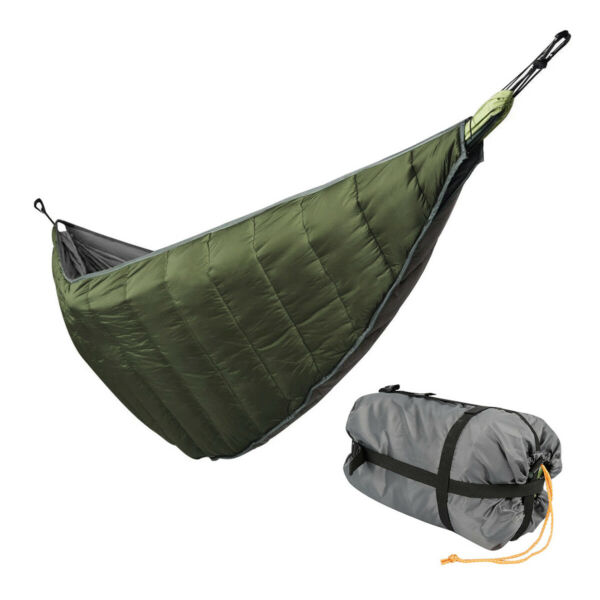 Camping Full Length Hammock Underquilt Lightweight Blanket 4 Season Waterproof $30.20