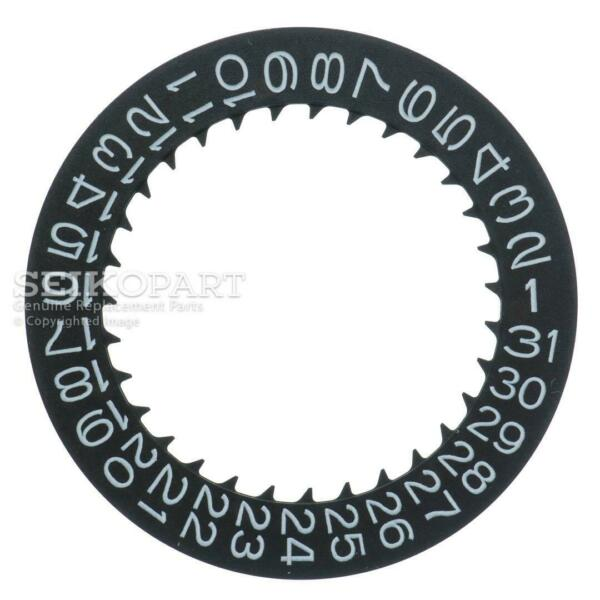 Seiko 0878207 Black Date Disc Dial 7S26C 7S36C Automatic Movement White Numbers $22.35