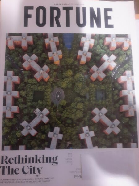 Fortune March 2020 Rethinking The City  (Magazine: Finance Business)