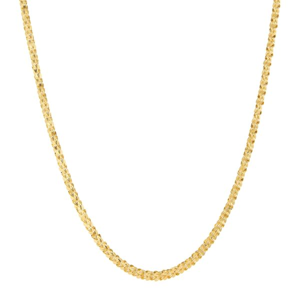 Heart Link Chain Necklace in 14K Gold 18quot; $234.99