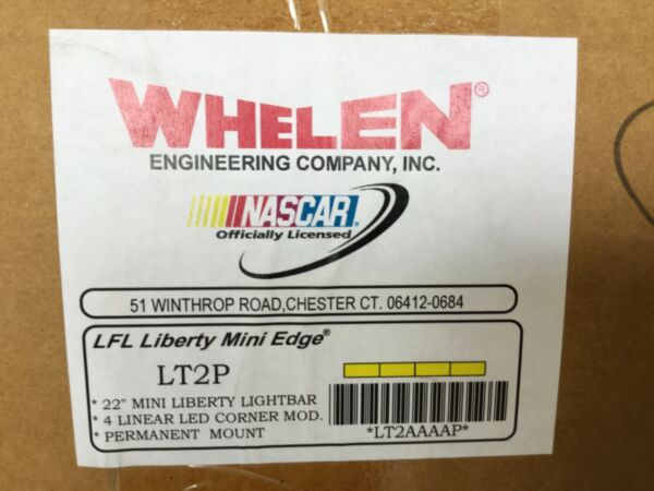Whelen Liberty Amber LED MINI Lightbar 22 inch LT2AAAAP ( Brand New )