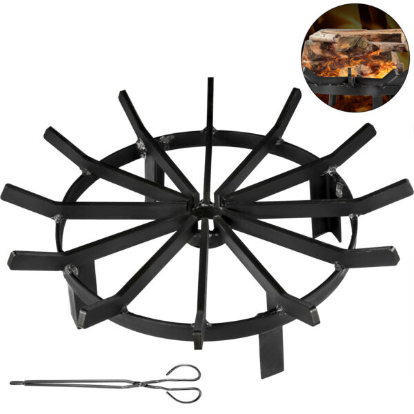 Wheel Fire Grate Fire Pit Log Grate 20 Inch Fire Pit Grate Round Fire Pit Wheels