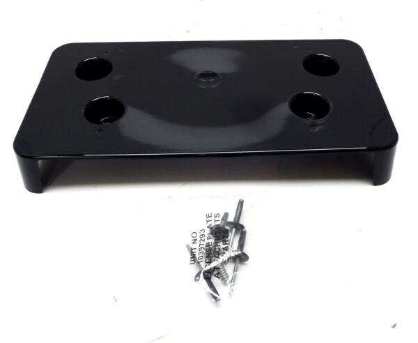 23417061 Front License Plate Bracket Black Meet Kettl for 2018 2019 Cadillac XTS $19.76