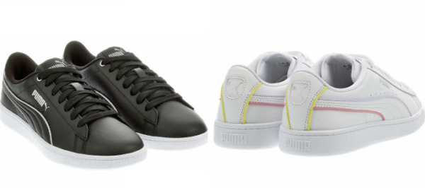 NEW!! Puma Women's Vikky V2 Leather Sneaker Shoes Variety