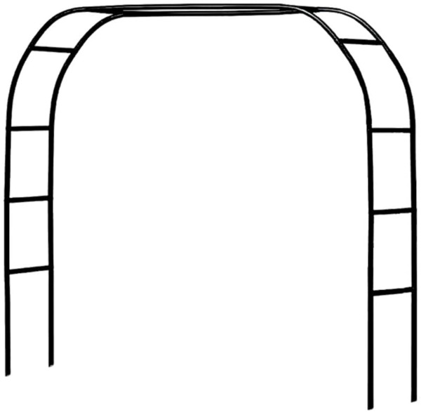 Metal Pergola Arbor7.5 Feet Wide x 6.4 Feet High or 4.6 Feet Wide x 7.9 Feet Hi