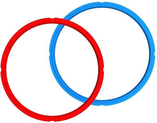 Genuine Instant Pot Sealing Ring 2 Pack 6 Quart Red Blue $12.00