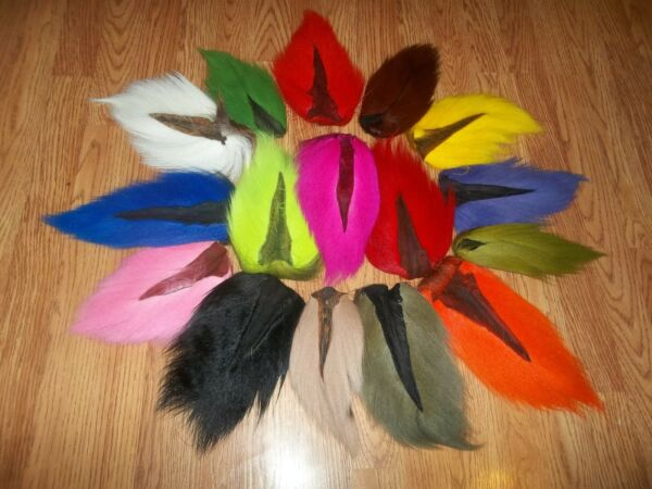 1  BUCK TAIL Deer tails  - Large 10