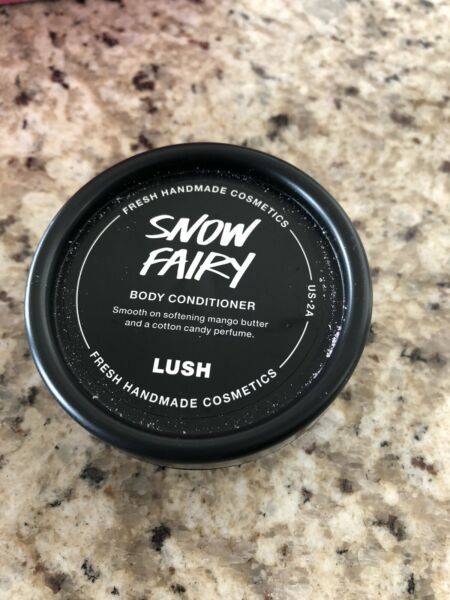 Lush Cosmetics Snow Fairy Body Conditioner New Gifts Fast Shp Sold Out
