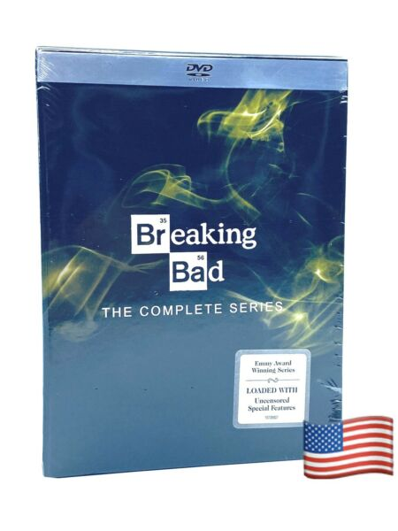 Breaking Bad: The Complete Series (DVD 2014 21-Disc Set) Same Day Shipping