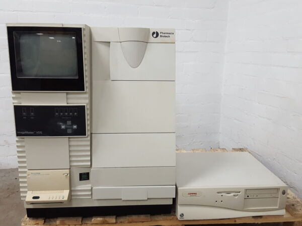 Pharmacia Biotech ImageMaster VDS Video Documentation System GelDoc + FTI-500