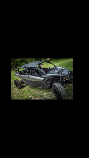 Can-Am X3 Lower Doors Front And Rear OEM. Brand New In Box 4 Door. Black.