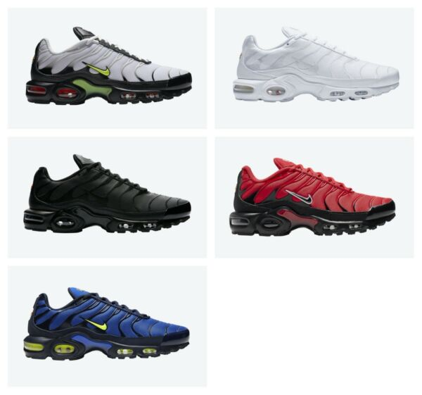 Nike Air Max Plus Multiple Colors US Mens Sizes 7.5-15 Running Shoes $134.99