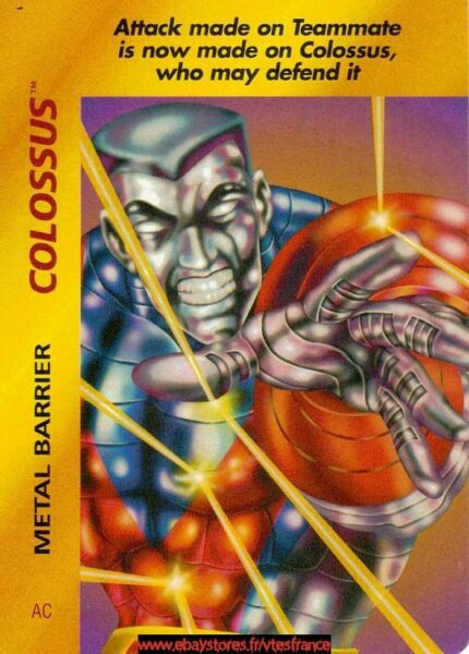 Overpower TCG Colossus Metal Barrier Base Set EUR 1.00
