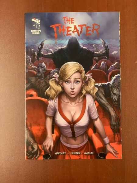 ZENESCOPE: THE THEATER # 1 COMIC ARTGERM COVER RARE GRIMM FAIRY TALES