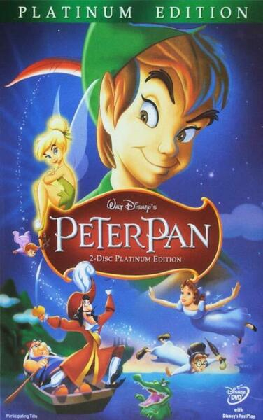 Peter Pan DVD 2007 2 Disc Set Platinum Edition New amp; Sealed Slipcover $8.49