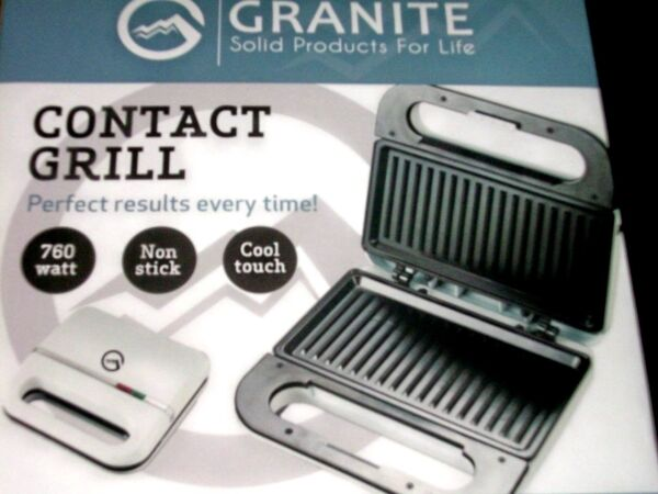 NEW GRANITE CONTACT GRILL