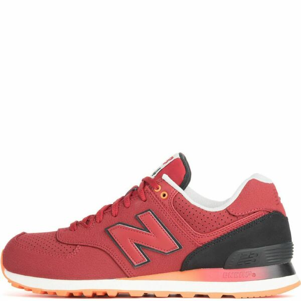 New Balance ML574RAB Red   size 9 D