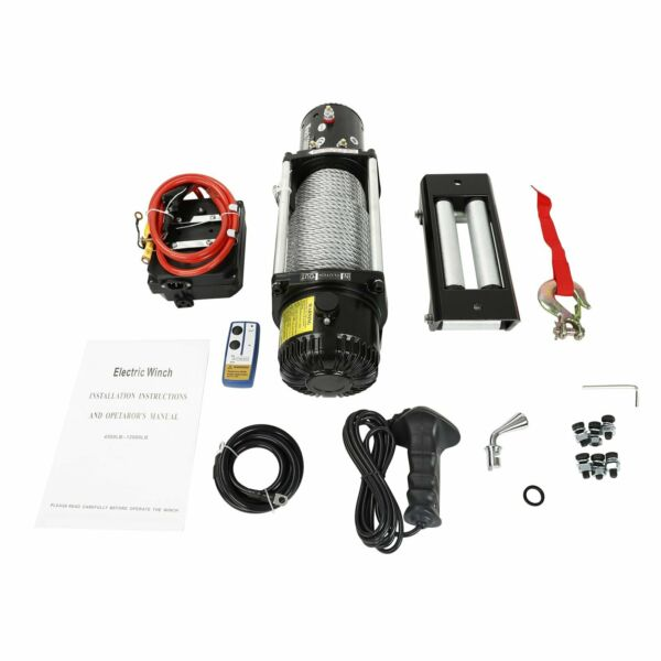 13000LBS 12V Electric Winch Steel Cable for OffRoad Jeep Truck Towing Trailer $269.99
