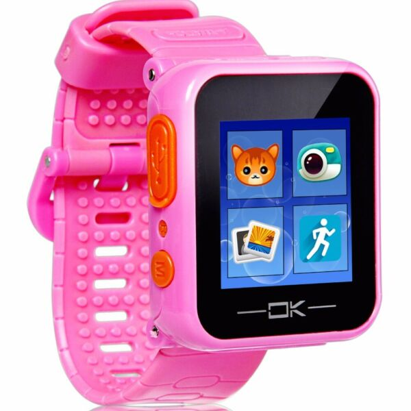 Game Smart Watch - Virtual Cyber Pet Camera Pedometer Timer Alarm Clock Toy PInk $31.49