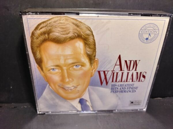 Andy Williams His Greatest Hits And Finest Performances CD B286