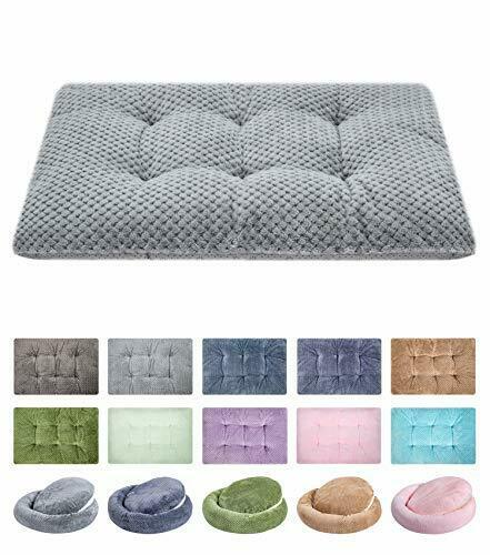 Pet Beds Fuzzy Deluxe Super Plush Dog or Cat Washable and Dryer Friendly Comfort $16.84