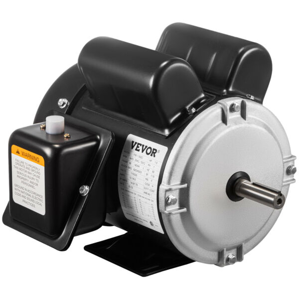 Electric Motor 1 1 2 HP Single Phase 3450RPM TEFC 5 8quot; shaft Rotation 56 frame $146.96